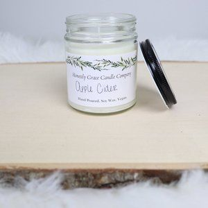 Apple Cider Hand Poured Soy Wax Fall Candle
